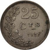 Luxembourg, Charlotte, 25 Centimes, 1927, TTB, Copper-nickel, KM:37