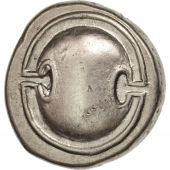 Boeotia, Stater, Thebes, AU(50-53), Silver, Hepworth 69