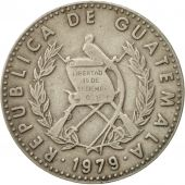 Guatemala, 25 Centavos, 1979, TB+, Copper-nickel, KM:278.1