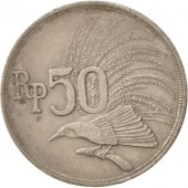 Indonesia, 50 Rupiah, 1971, EF(40-45), Copper-nickel, KM:35