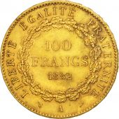 France, Génie, 100 Francs, 1882, Paris, SUP, Or, KM:832, Gadoury:1137