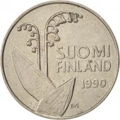 Finlande, 10 Pennia, 1990, SUP, Copper-nickel, KM:65