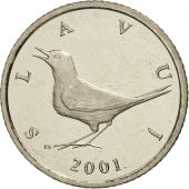 Croatie, Kuna, 2001, SPL+, Copper-Nickel-Zinc, KM:9.1