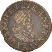 France, Louis XIII, Double tournois, 1630, Paris, TTB+, CGKL:394