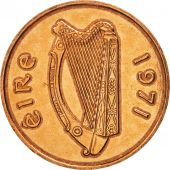 IRELAND REPUBLIC, 2 Pence, 1971, SUP, Bronze, KM:21