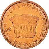 Slovenia, 2 Euro Cent, 2007, MS(64), Copper Plated Steel, KM:69