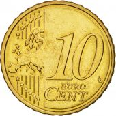 Slovenia, 10 Euro Cent, 2007, MS(64), Brass, KM:71