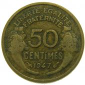 Provisory Government, 50 Centimes Morlon Aluminium Bronze