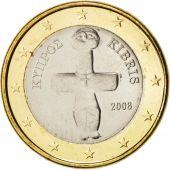 Chypre, Euro, 2008, SPL+, Bi-Metallic, KM:84