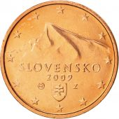 Slovaquie, 2 Euro Cent, 2009, SPL+, Copper Plated Steel, KM:96