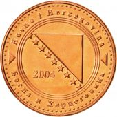 BOSNIA-HERZEGOVINA, 10 Feninga, 2004, SPL+, Copper Plated Steel, KM:115