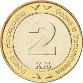 BOSNIA-HERZEGOVINA, 2 Konvertible Marka, 2003, British Royal Mint, SPL+