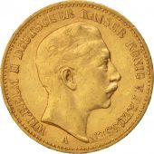 Etats allemands, PRUSSIA, Wilhelm II, 20 Mark, 1900, Berlin, TTB, Or, KM:521
