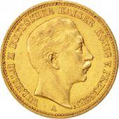 Etats allemands, PRUSSIA, Wilhelm II, 20 Mark, 1901, Berlin, TTB+, Or, KM:521