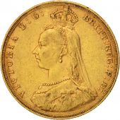 Australie, Victoria, Sovereign, 1887, Melbourne, TTB, Or, KM:10