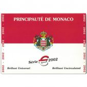 Monaco, BU Euro Set Rainier III 2002, MS(65-70)