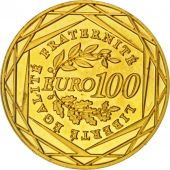 France, 100 Euro, 2008, SPL, Or, Gadoury:EU288, KM:1536