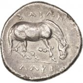 Thessaly, Larissa, Drachm, AU(50-53), Silver, SNG Cop:122