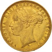 Australie, Victoria, Sovereign, 1880, Melbourne, TTB, Or, KM:7