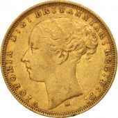 Australie, Victoria, Sovereign, 1882, Melbourne, TTB, Or, KM:7