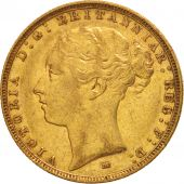 Australie, Victoria, Sovereign, 1884, Melbourne, TTB+, Or, KM:7
