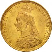 Australie, Victoria, Sovereign, 1889, Sydney, TTB+, Or, KM:10