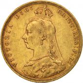 Australie, Victoria, Sovereign, 1890, Melbourne, TTB, Or, KM:10