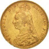 Grande-Bretagne, Victoria, Sovereign, 1892, TTB, Or, KM:767
