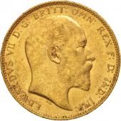 Australie, Edward VII, Sovereign, 1902, Perth, SUP, Or, KM:15