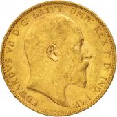 Australie, Edward VII, Sovereign, 1903, Perth, TTB+, Or, KM:15