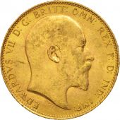 Grande-Bretagne, Edward VII, Sovereign, 1906, TTB+, Or, KM:805