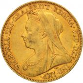 Australie, Victoria, Sovereign, 1897, Melbourne, TTB, Or, KM:13
