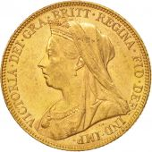 Australie, Victoria, Sovereign, 1898, Melbourne, TTB+, Or, KM:13