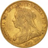 Australie, Victoria, Sovereign, 1901, Sydney, TTB, Or, KM:13
