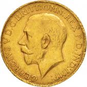 South Africa, George V, Sovereign, 1926, AU(50-53), Gold, KM:21