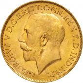 South Africa, George V, Sovereign, 1927, MS(63), Gold, KM:21