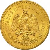 Mexico, 50 Pesos, 1946, Mexico City, MS(63), Gold, KM:481