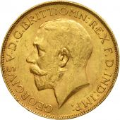 South Africa, George V, Sovereign, 1925, AU(50-53), Gold, KM:21