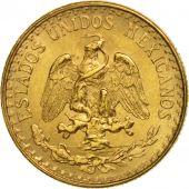Mexique, 2 Pesos, 1945, Mexico City, SUP+, Or, KM:461