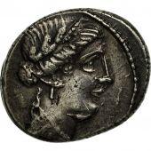 Hostilia, Denier, Rome, TTB+, Argent, Crawford:448/1a