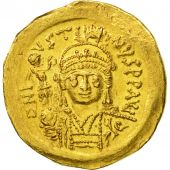 Justin II, Solidus, Constantinople, SUP, Or, Sear:345