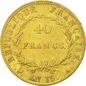 France, Napoléon I, 40 Francs, 1804 (An 13), Paris, TTB, Or, Gadoury:1081
