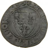 Charles VI, Blanc Gu�nar 2nd issue of September, the 11th, 1389