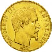 France, Napoleon III, 50 Francs, 1859, Paris, AU(50-53), Gold, KM:785.1