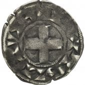 France, Louis VII, Denier Parisis, Paris, TB+, Argent, Duplessy:146