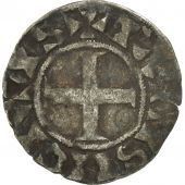 France, Louis VII, Denier Parisis, Paris, TB+, Argent, Duplessy:145