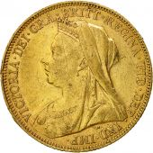 Australie, Victoria, Sovereign, 1900, Melbourne, TTB, Or, KM:13