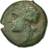 Coin, Sicily, Syracuse, Fourth Democraty, Bronze AE23, EF(40-45), Calciati:123