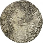 France, Philippe IV, Gros Tournois à lO long, TB, Argent, Duplessy:214