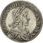 Monnaie, France, Louis XIII, Écu de 60 Sols, 2nd poinçon de Warin, 1643, Paris